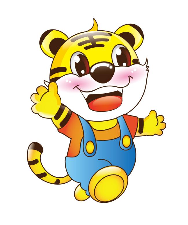 老虎卡通图片大全_【AI】生肖老虎 动物 可爱卡通 吉祥物 虎_图片编号:wli10927583 ...
