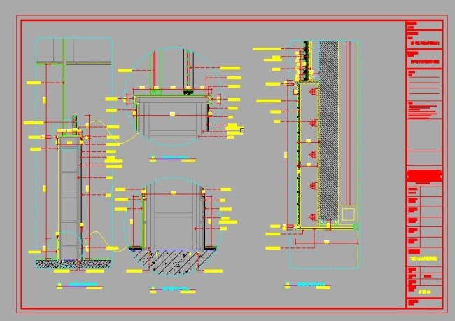 走廊 装饰图 室内装饰图 室内设计图 a4 a3 a2图框 说明:装饰图纸