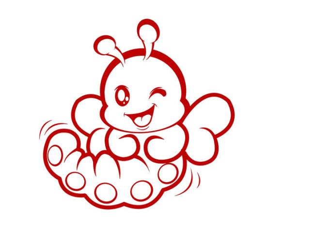 小虫子的可爱图片