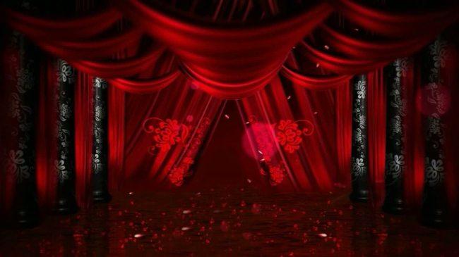 【mov】漂亮的宫殿led舞台背景片头素材图片