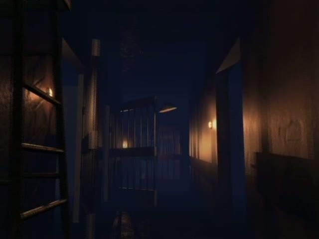 【mov】监狱牢房铁门视频素材