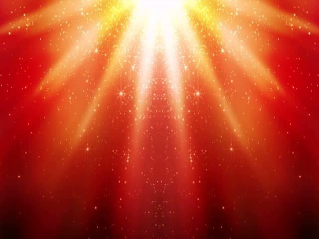 舞臺背景 說明:粒子紅光背景視頻素材