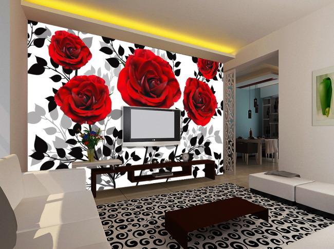 關鍵詞:夢幻 浪漫 紅色 玫瑰 月季 星光 花朵 白色 樹葉 背景 動感 花朵 中國風 抽象 個性 米素 時尚 簡約 淡雅 客廳 壁畫 電視墻 形象墻 背景墻 壁紙 墻壁 墻畫 墻紙 墻體 手繪 說明:花開時節