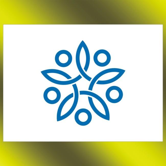 【cdr】莲花标志设计