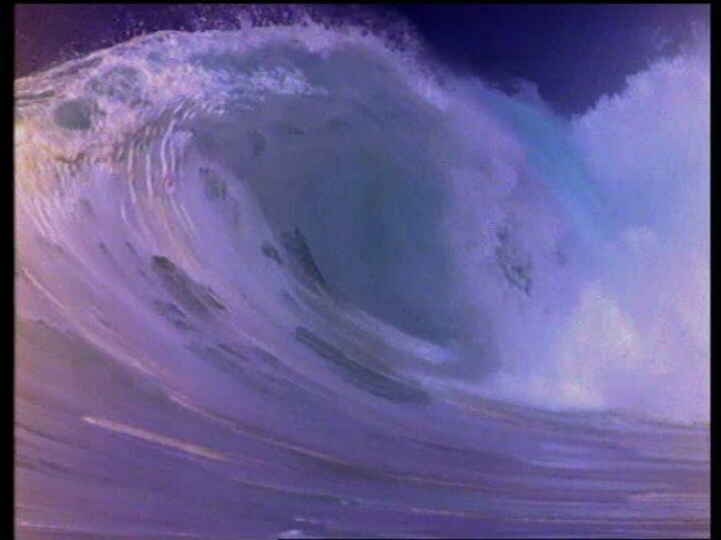 【mov】实拍大海波浪视频素材