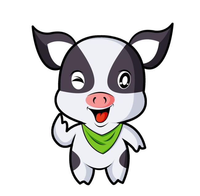 > 小猪卡通形象psd分层源文件下载  关键词: 小香猪 巴马香猪 可爱