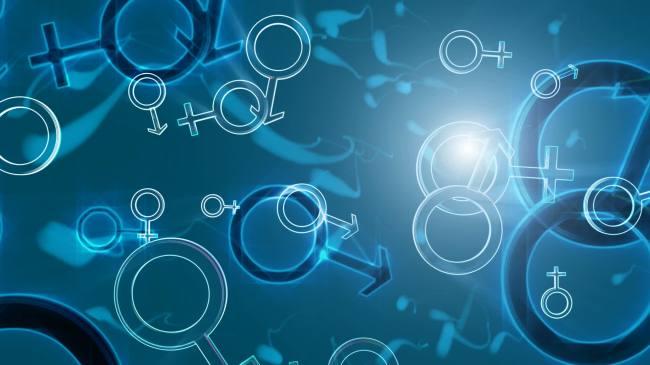 【mov】医学精子游动染色体图形高清视频背景素材
