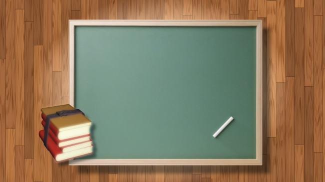 3d立体黑板边框