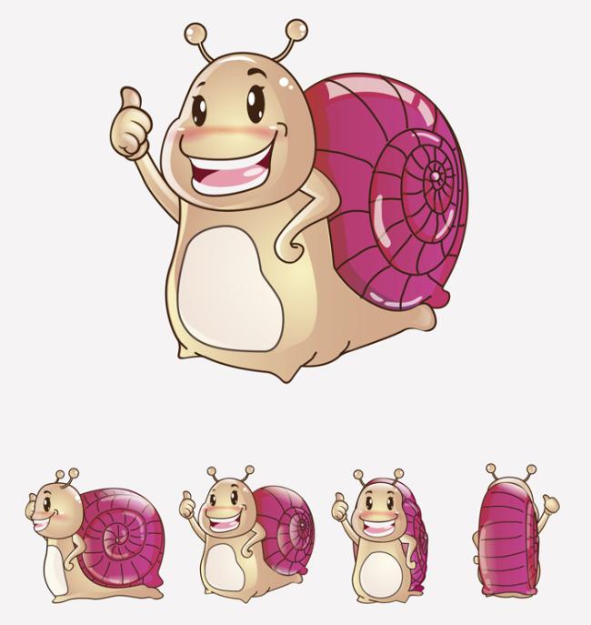 主页 原创专区 插画|素材|元素 卡通形象 > 蜗牛动物可爱卡通吉祥物