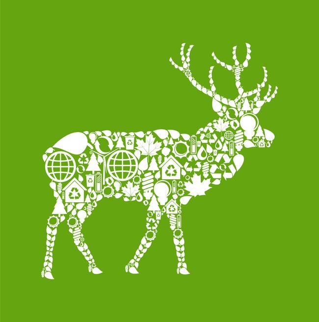 主页 原创专区 > 公益广告创意文化展板,海报之羚羊  关键词: 环保