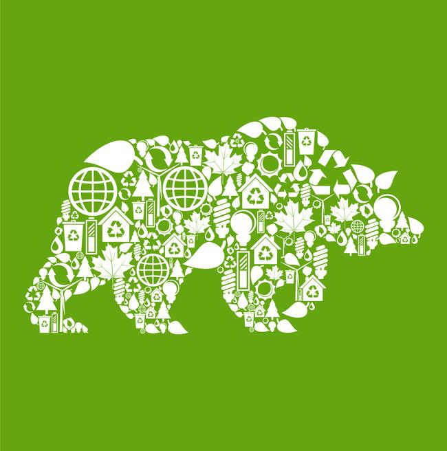 图标合集 环保标示 爱护动物 ai矢量 说明:公益广告创意文化展板,海报