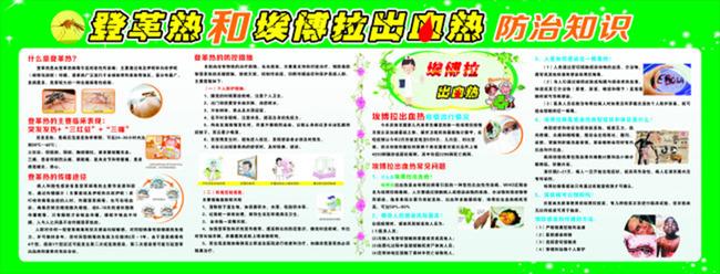 【cdr】登革热预防宣传展板