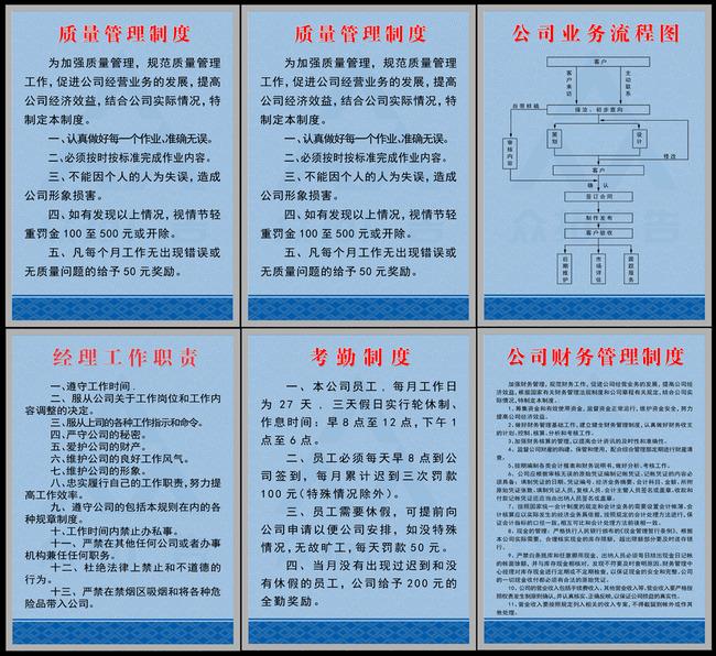 主页 原创专区 展板设计模板|x展架 企业展板设计 > 质量管理制度展板