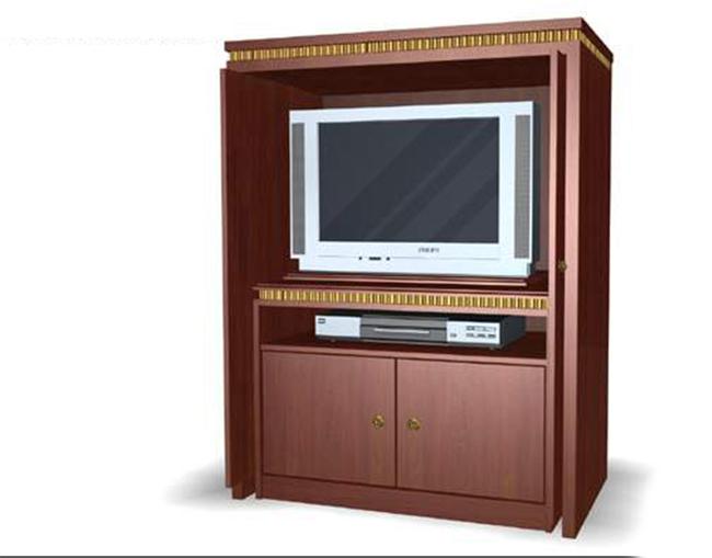 柜子单体模型下载 柜子3d模型及效果图欧式经典电视柜 说明:欧式经典