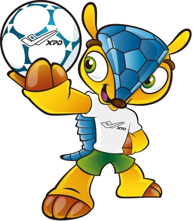 2014年巴西世界杯足球赛吉祥物犰狳