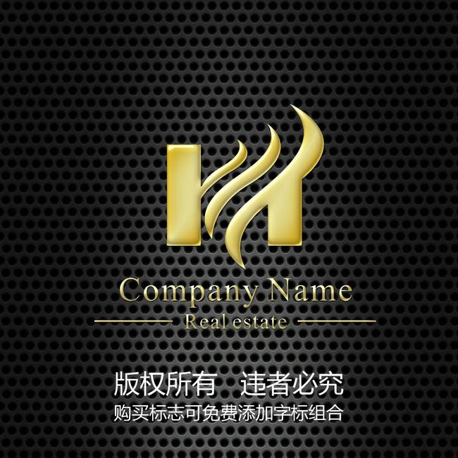 标志 标志模板 标志下载 logo 矢量logo 矢量标志 logo设计 hm 说明