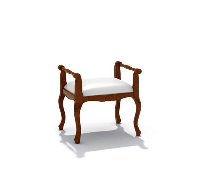 家具模型 su草图 大师模型 3d效果 说明:中式扶手玄关换鞋凳子沙发3d