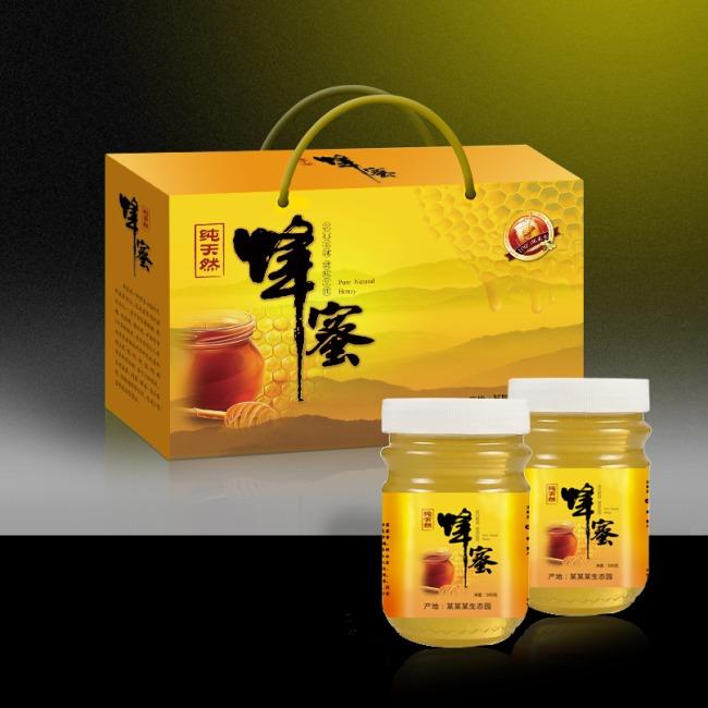 原创专区 新年礼品|包装设计模板 保健品 > 蜂蜜蜂蜜包装蜂蜜瓶贴展开