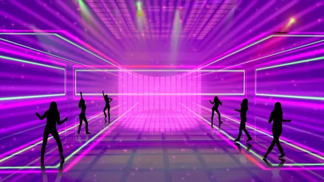 【mov】动感舞台led大屏幕背景