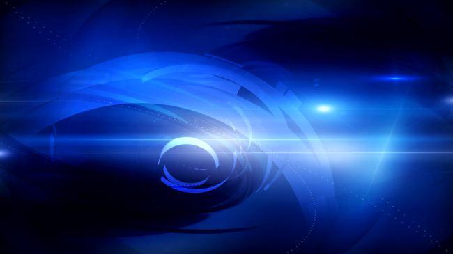 > 蓝色光影光效高清视频新闻类背景  关键词: 高清视频 背景素材 字幕