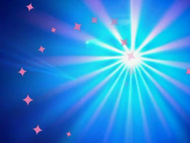【mov】led灯光特效视频灯光闪烁小星星视频