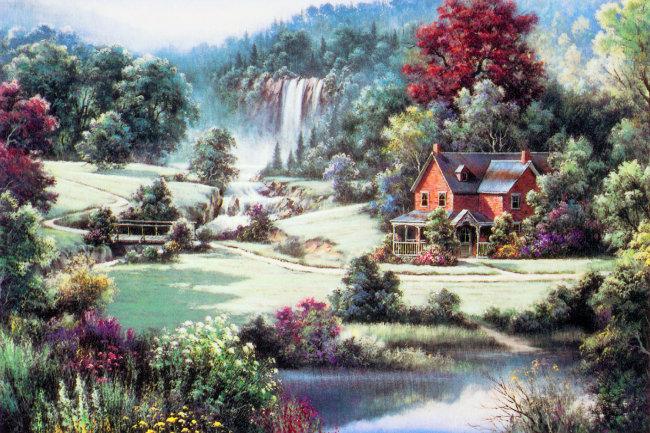 【jpg】风景油画