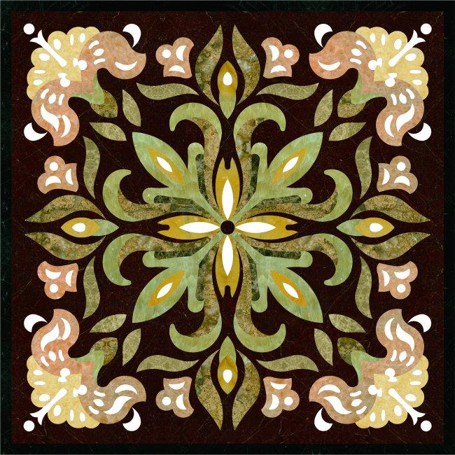 地毯 地板拼花 水刀拼花 地板图案 花纹花边 花纹 拼图 石材拼花 欧式