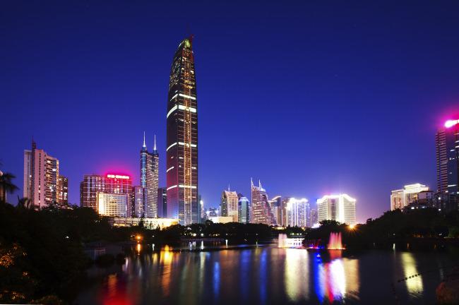 深圳地标建筑矢量图