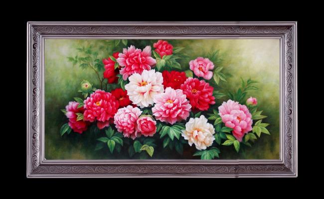 【tif不分】玫瑰花花卉油画
