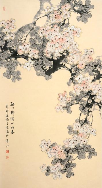 花鸟画 中国风 水墨画