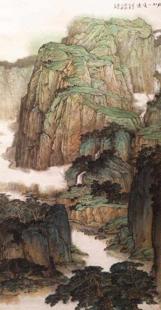 山水画水彩画