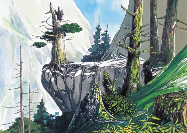 【jpg】手绘风景 风景插画