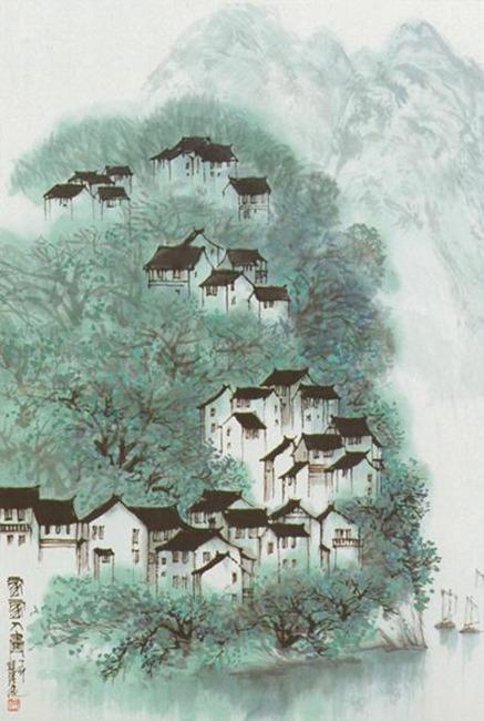 > 乡村风景  关键词: 农村风景 自然风景 乡村风景 绿色风景 乡村房子