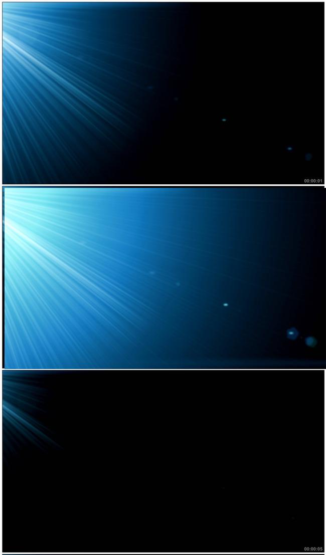 光线 光晕 闪光 闪烁 光芒 海底 说明:蓝色光影特效光效高清视频素材