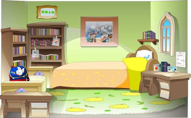 室内 说明:flash儿童房动画场景设计源文件