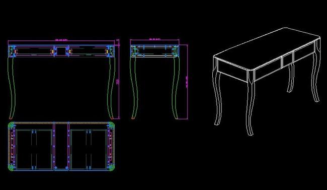 家具设计图纸 欧式家具
