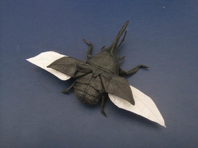 【jpg】手工折纸艺术/甲虫