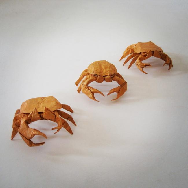 【jpg】手工折纸艺术/小螃蟹