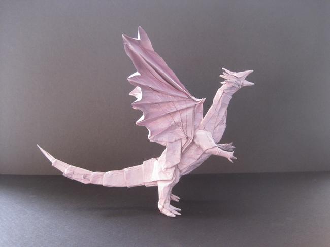 【jpg】手工折纸艺术/恐龙