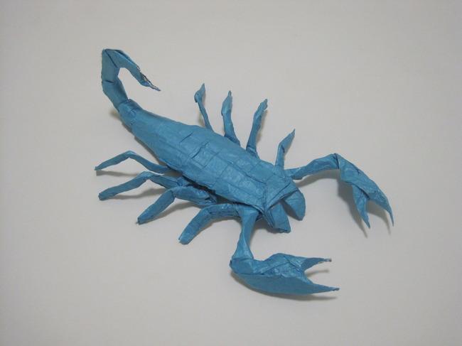 【jpg】手工折纸艺术/蝎子