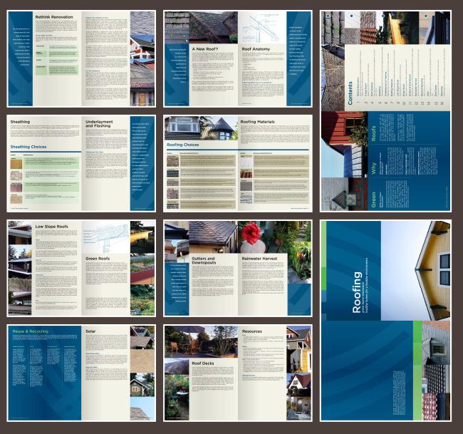 设计参考 排版素材 广告 高端画册 海报 广告设计 模 说明:别墅园林画