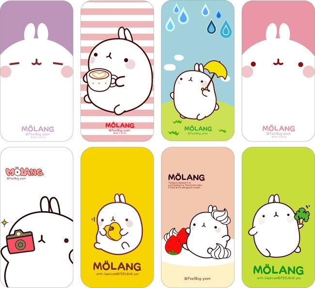 【abr】molang韩国土豆兔矢量图整套下载