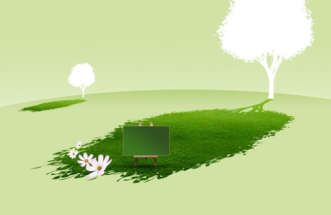 绿色植物矢量素材
