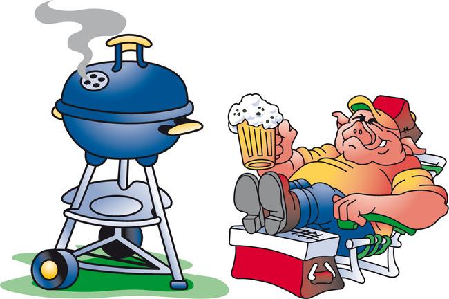 主页 原创专区 插画|素材|元素 卡通形象 > 喝啤酒的猪