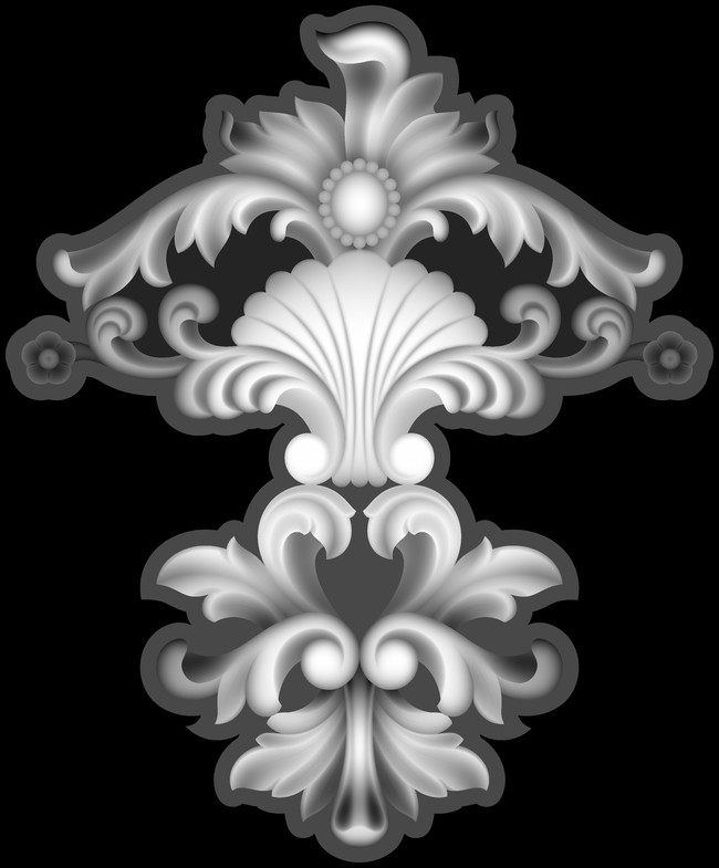 石雕 玻璃雕刻 浮雕素材 艺术装饰 红木雕刻 仿古家具 花边 精雕灰度