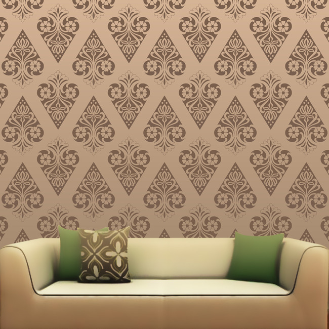 壁纸|墙画壁纸 > 欧式花纹壁纸  关键词: 壁纸 壁画 墙画 壁纸效果图