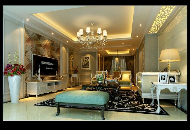 设计 大厅装饰 大厅图片 客厅图片 大厅效果图 说明:室内设计欧式客厅