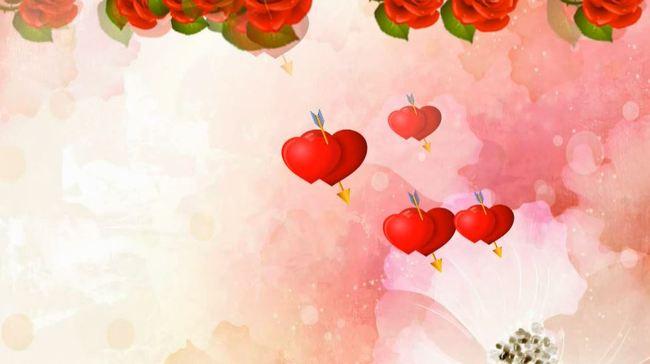 心形视频 爱心视频 心型 婚庆视频 浪漫led婚礼舞台背景 婚庆素材