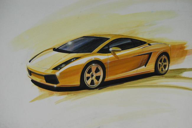 【jpg】手绘汽车