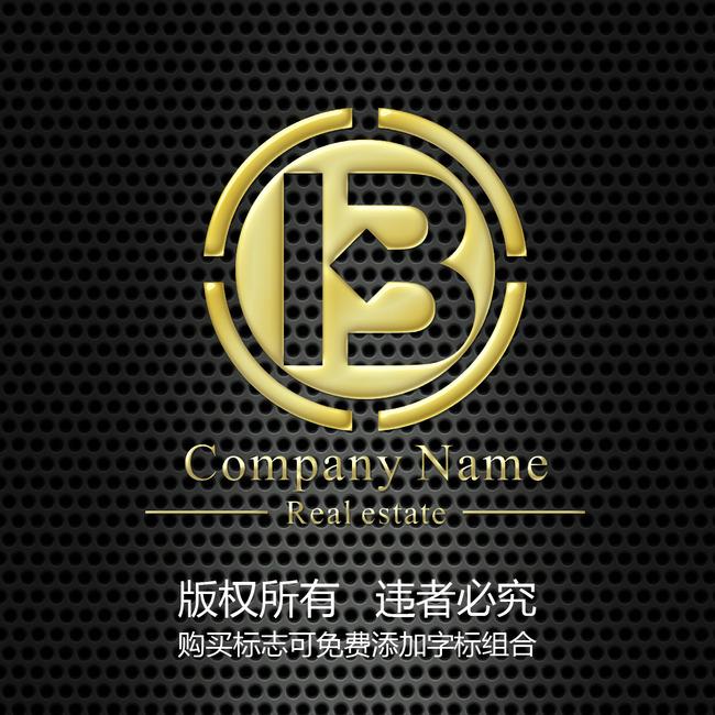 logo設計 圓形 投資 字母b變形 說明:圓形投資字母b變形標志設計模板